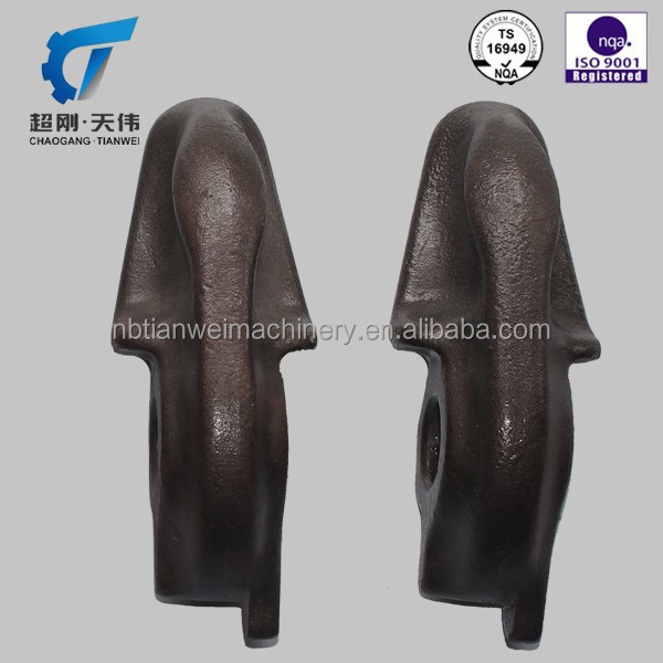 excellent quality ductile iron casting astm a536 65-45-12