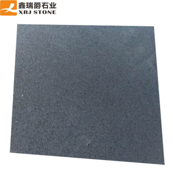 China Natural Stone Bluestone Hainan Black Basalt Paving Stone Honed Tiles Cut-to-size Outdoor Paver