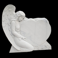 2017 New Design Angel White Marble