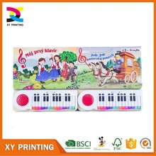 Custom Paper Board Piano Music Book Printing