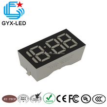 GYX white color 4 digits 7 segment lamp LED clock display