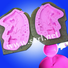 Liquid heat resistant rtv silicone rubber for molds