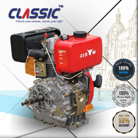 CLASSIC CHINA 5HP Single Cylinder Diesel Engine, Air Cooled Diesel Engine F178 F186, Chinese Diesel Engines