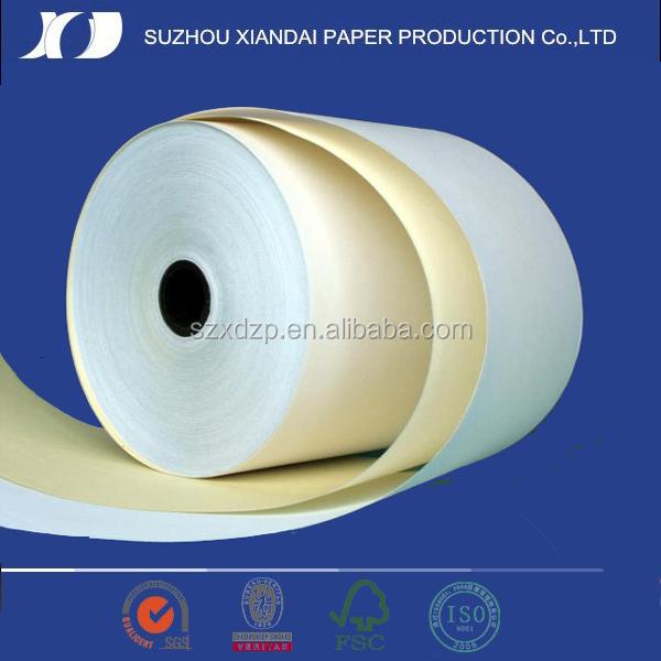 2015 Popular multi-ply carbonless paper carbonless paper for dot matrix printer
