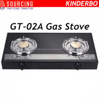 gas stove with glass top kitchen stove