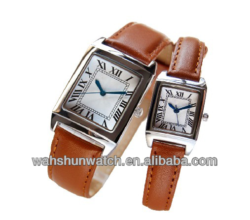 Best valentine's day alloy case quartz gift set watch for couples