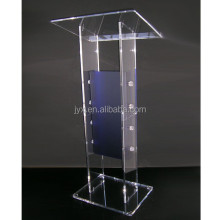 Modern design clear custom perspex church podium/pulpit