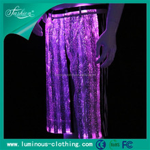 glow in the dark fibre optic lighting men's shorts