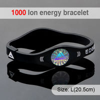 Promotion Ion Power Bracelet Colorful Custom Health Silicone Balance Bracelet