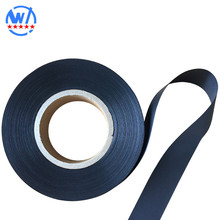 Hot Selling black polyester taffeta Ribbon 0.07MM