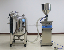 lubricant filling machine for small business production line
