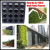 Vertical garden green wall panel planter SL-Y5012, plstiac modular Green wall panel, vertical green wall panel