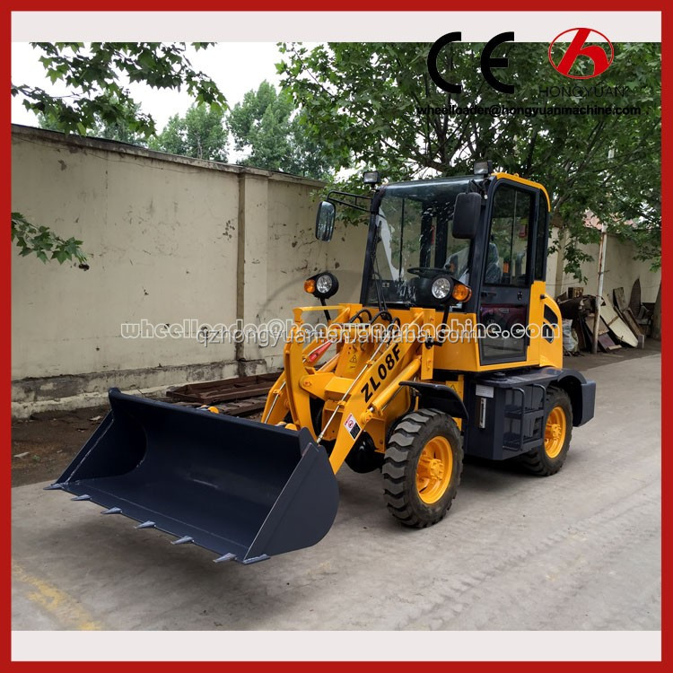 ZL08F Wheel Loader wheel loader pu foam wheel