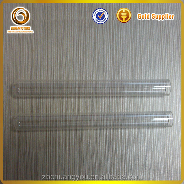 high quanlity clear borosilicate glass test tube/cigar tube/labware test tube