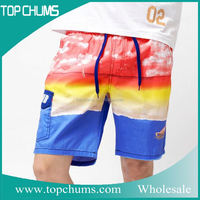 Hot selling casual men latex shorts boxer shorts thailand
