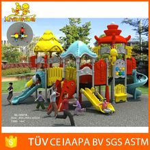 china factory small outdoor playsets plastic playground slide equipment playground/amusement park games for kids
