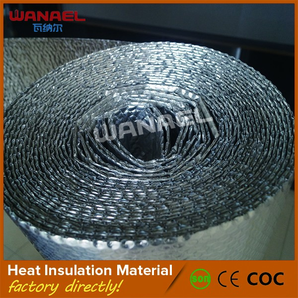 Wanael Wall Waterproof Aluinum Air Bubble Foil Heat Insulation Material