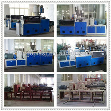Plastic Pipe Conical Twin Screw Extruder pipeline prefabrication production line