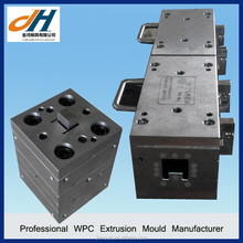 Supply Wood Plastic WPC Frame Extrusion Mould Tools
