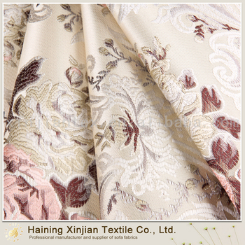 China Alibaba Home Furnishing Jaquard Fabric For Sofa