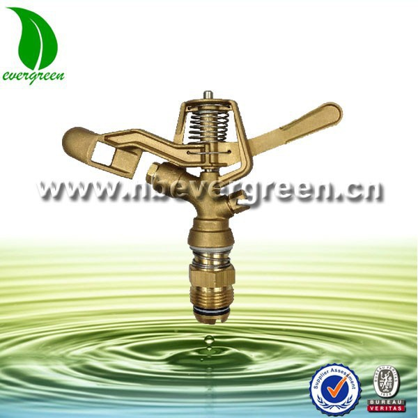 6111M brass impact water sprinkler for agriculture irrigation