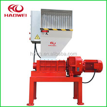 Double Shaft Used tyre tire waste recycling crusher machine