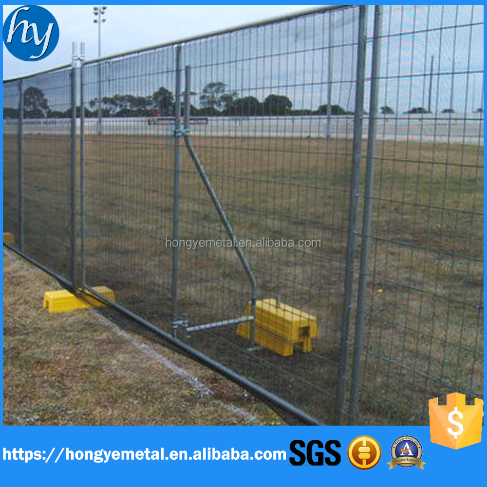 Hot dip galvanized Temporary fence/Mobile fence/ mobile security fence