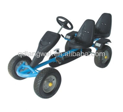 two seat pedal go /sand beach cart GC0210