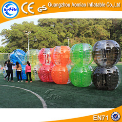 Inflatable human sized hamster balls balloon bouncy bubble ball buddy bumper ball for adult