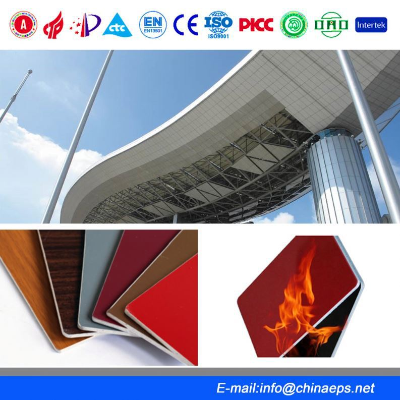 ACP panel decorative textured wall composite honeycomb panels
