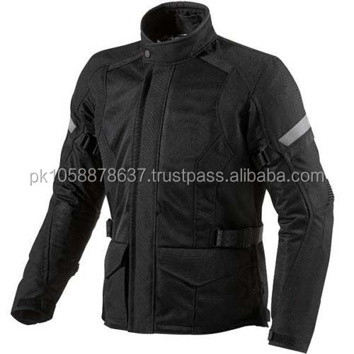 New Men's Black Waterproof Textile Motorcycle Jacket , Motor Bike WaterProof Cordura Jacket