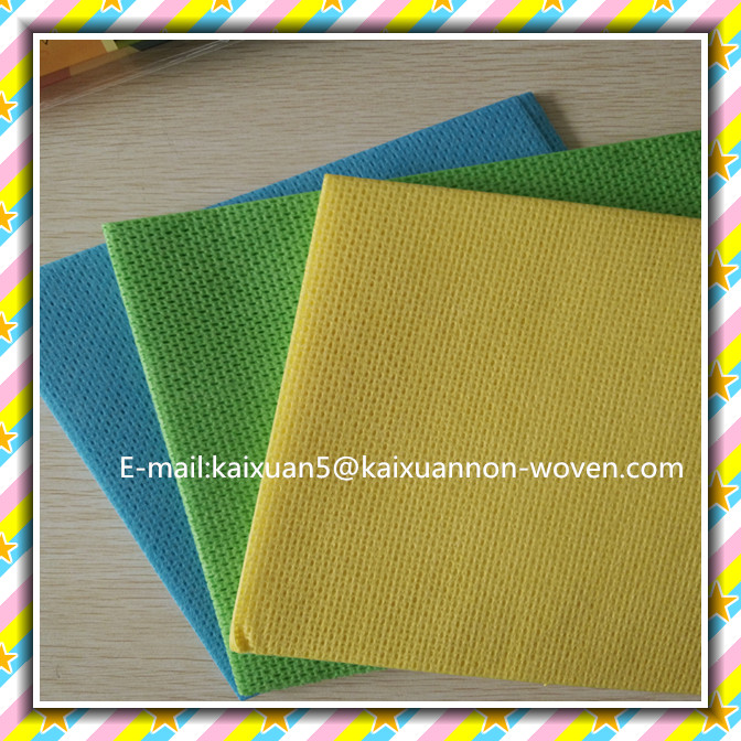 [FACTORY] BSCI certificate Nonwoven Magic cleaning cloth/kitchen wipes/household wiping rags (non-woven/roll)
