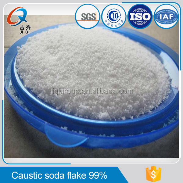 professional quality 99% caustic soda flakes chemical properties sodium hydroxide