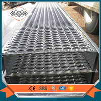 Metal Chequer Perforated sheet/Perforated metal checker plate