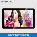 Hot sale 22 inch Iphone design vesa mount wall hanging LCD advertising display player