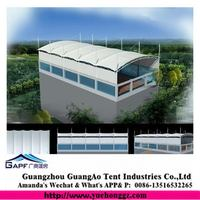 Bottom price latest etfe membrane structure tent