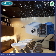 10W battery powered optic fiber lights engine with twinkle effect for hotel reception decorations