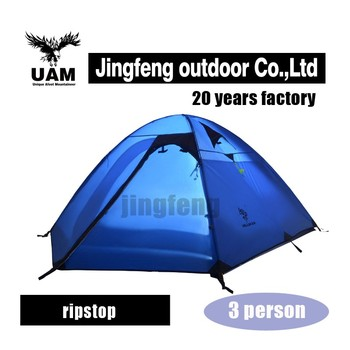 3 season wind resistant outdoor camping tent