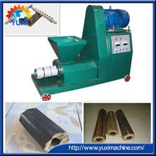 Honeycomb type easy burning coal rod punching briquette make machine