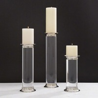 Acrylic candle stand holder