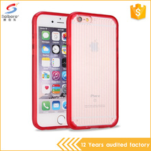 Online wholesale shop soft tpu on the side hard pc back over red custom case for iphone 5 5s
