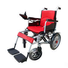 Medical Care Steel tube electric folding wheelchair with 250W Motor