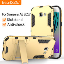 Hybrid 2 in 1 for samsung a5 2017 mobile phone cover