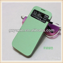 Bright Color Luxury Leather Case For Samsung Galaxy S4 mini,3d Cute Case For Samsung Galaxy S4 Mini
