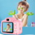 HD 2.0 Inches Screen 8.0MP Kids Video Digital Cameras Shockproof Children Selfie Toy Camera for Age 3 ~14