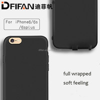 On sale For iPhone 6s 4.7 inch tpu cell phone case blank sublimation back cover case