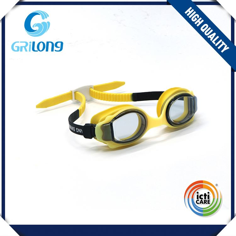 Top fashion attractive style novelty kids cartoon swim goggles