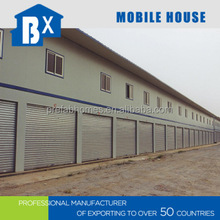 Sandwich panel house manufacture