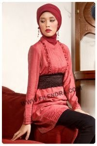Burn On Red Islamic Clothing