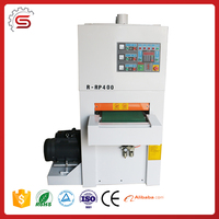 Professional woodworking machineSTR400R-RP Heavy-Duty Wide-Belt sanding machine 2Roller and 1Pad